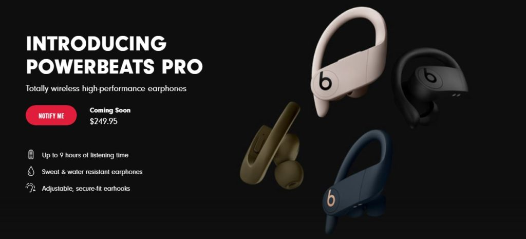 Powerbeats Pro Release date and Price