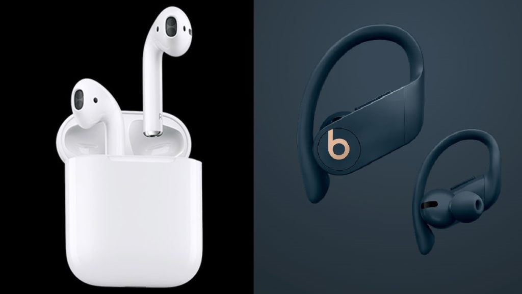 Powerbeats vs Airpods