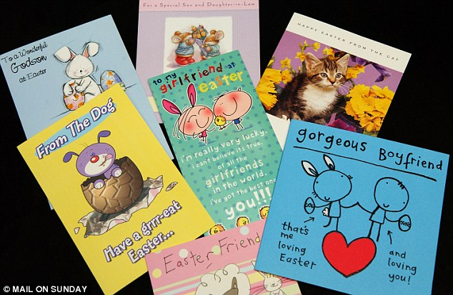 Fewer people are sending Easter cards, GlobalData said, pencilling in a 0.9 per cent decline