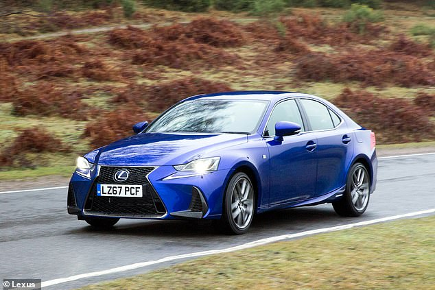 The Prius narrowly beat the Lexus IS, another hybrid option available from Toyota's luxury car brand