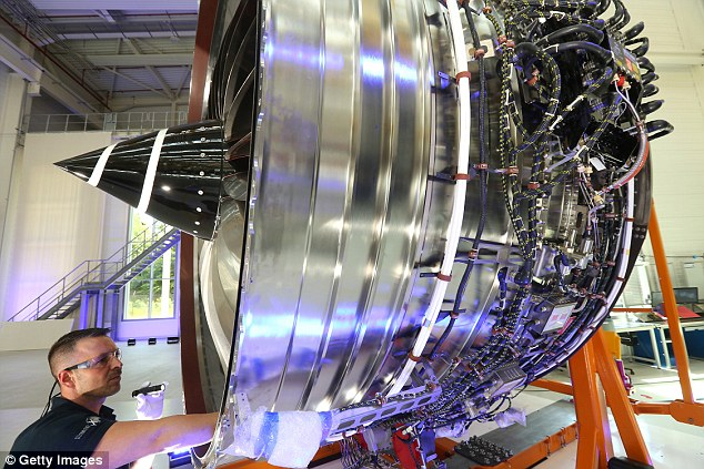 Suspended: Engineer Rolls-Royce was suspended from the PPC for failing to meet standards