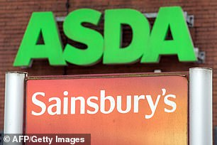 The £12billion merger between Asda and Sainsbury's was blocked by the UK competition watchdog last month