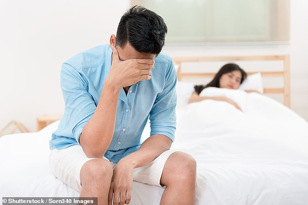 Bruising to the man's perineum left him with high-flow priapism, which meant that blood would not stop flowing to his penis (stock image)