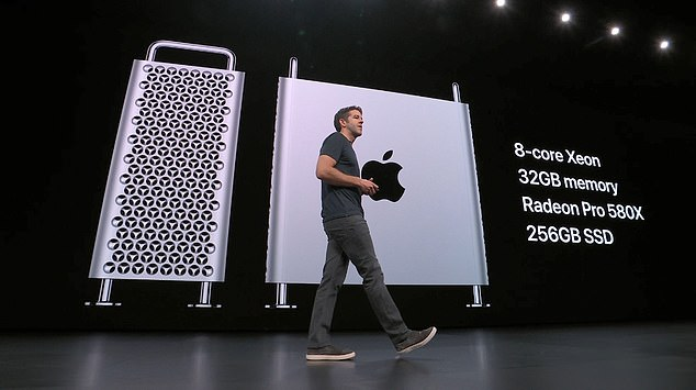 John Ternus, Vice President, Mac and iPad Hardware Engineering at Apple, said the new Mac Pro is designed with 'utility and function' in mind, while packing improved performance