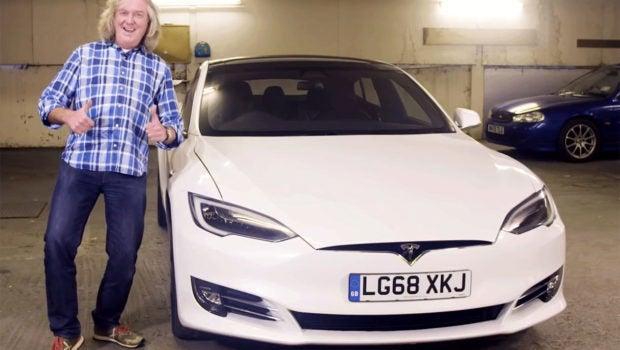 James May, Tesla Model S