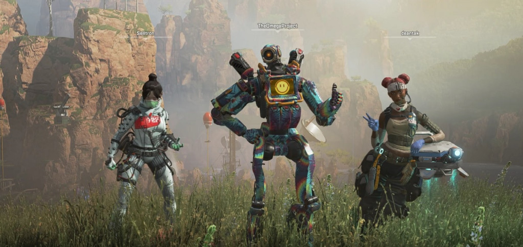 WTF! Deantak has shown up on a victory screen in Apex Legends?