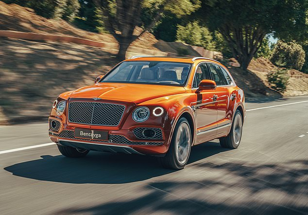 Spoiled for choice: There are four driving modes: the default Bentley setting; Sport for a more engaging drive; Comfort for chilling; and Custom, which you can tailor for yourself