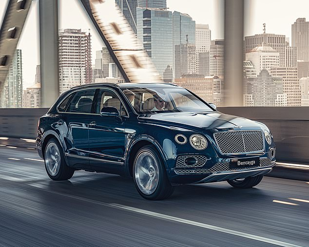 City slicker: Bentley reckons the 168-cell lithium-ion battery can be charged fully charged in just 2.5 hours using a fast-charger
