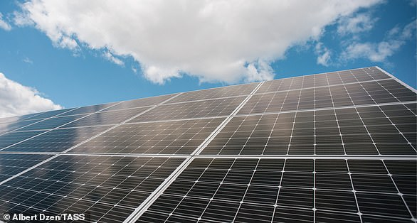 Solar panels convert energy from the sun into electrical power (stock image)