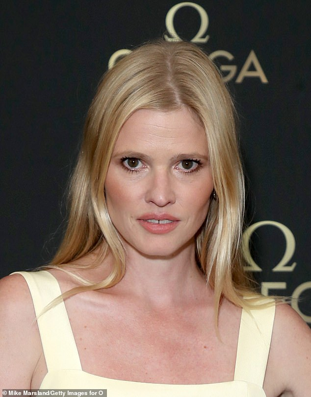 Dr Mark Hughes, based in Beaconsfield, told MailOnline models like Lara Stone (pictured) have fuelled the trend in the past three years or so