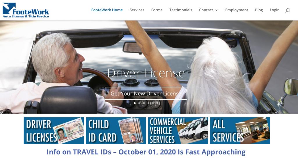 Travel ID FooteWork Prescott Valley AZ