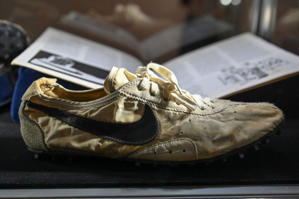 Nike 'Waffle Shoe' sells for $475,500, becoming the most