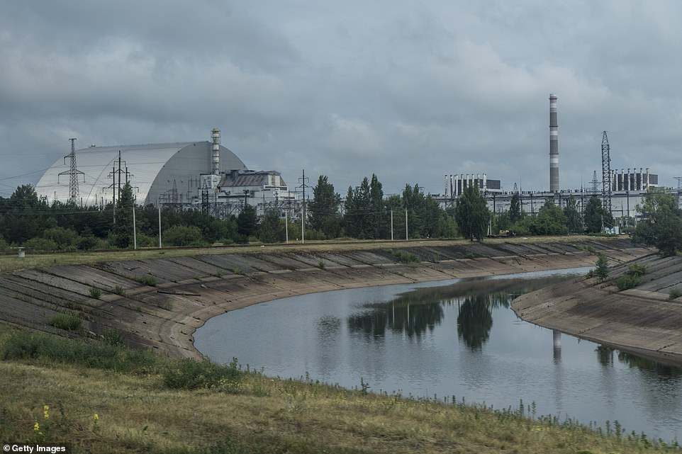 The Chernobyl Nuclear Power Plant (pictured) in Ukraine exploded and burned on April 26, 1986, leading to an estimated 4,000 deaths and hundreds of thousands of people being resettled