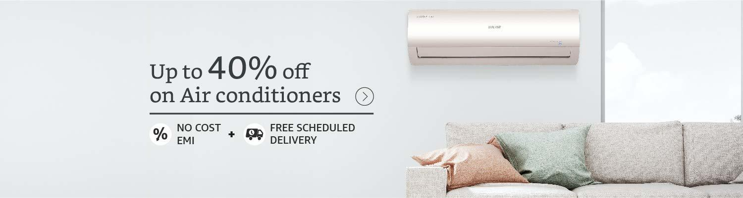Up to 40% OFF on ACs