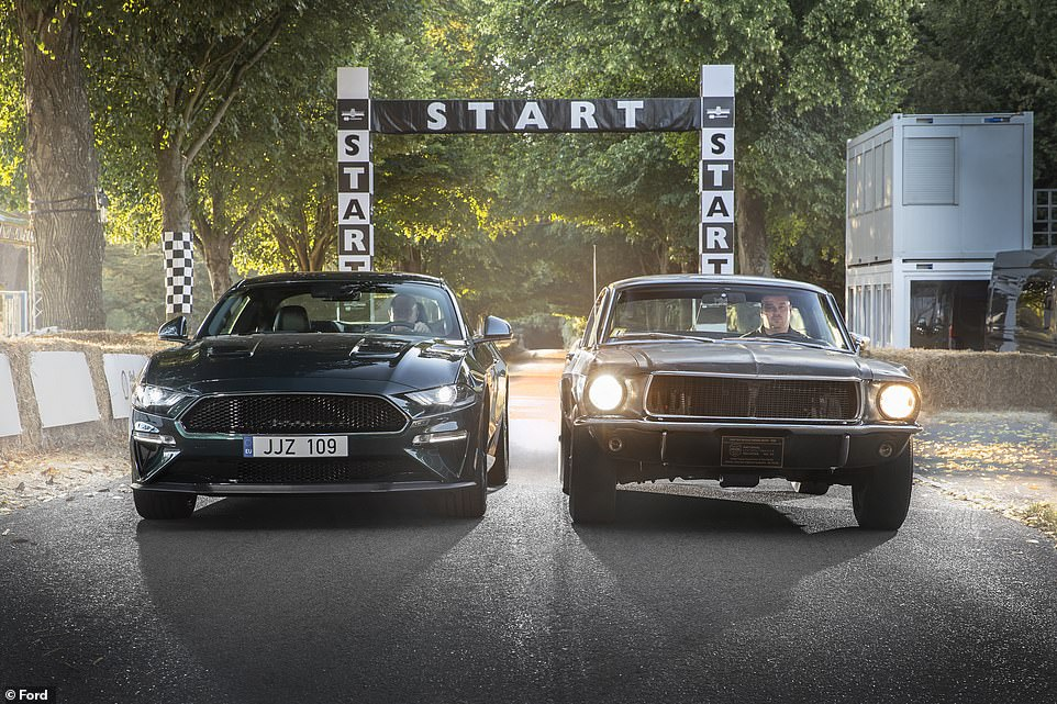 The Bullitt Mustang will be exhibited at various automotive events around the country leading up to the Mecum Kissimmee 2020 auction in from January 2 2020. It was driven at the Goodwood Festival of Speed in 2018