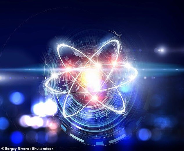 Gamma rays are a form of electromagnetic radiation, similar to X-rays, that are emitted from the excited nucleus of an atom (artist's impression)