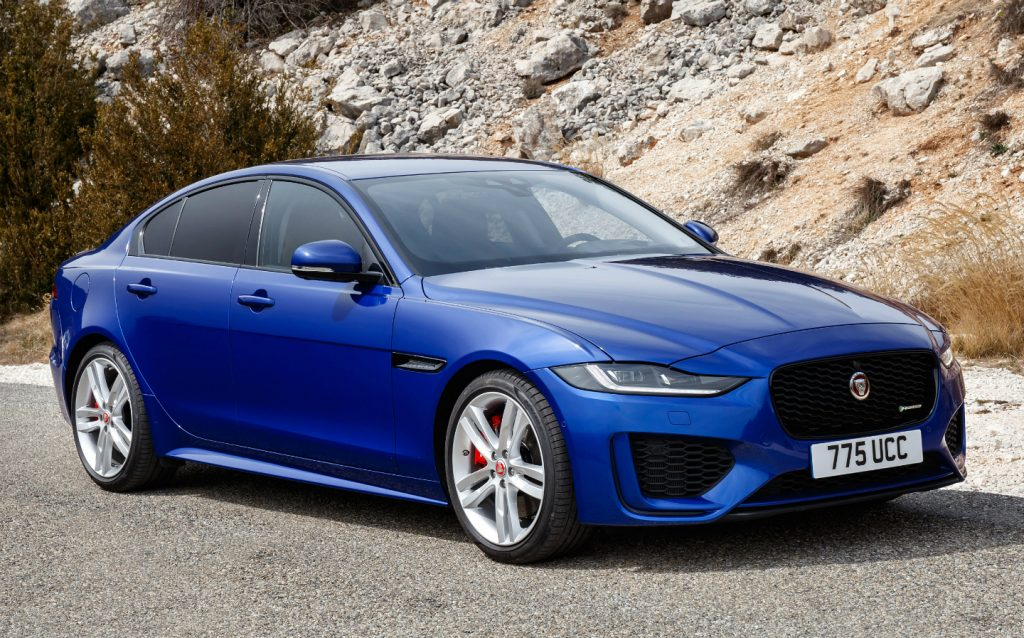 Sunday Times Motor Awards 2019 Best British-Built Car of the Year. Jaguar XE