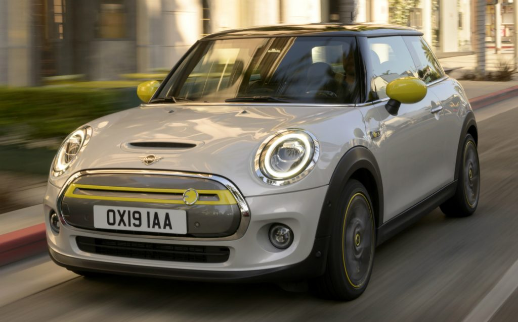 Sunday Times Motor Awards 2019 Best British-Built Car of the Year. MINI Cooper SE Mini Electric