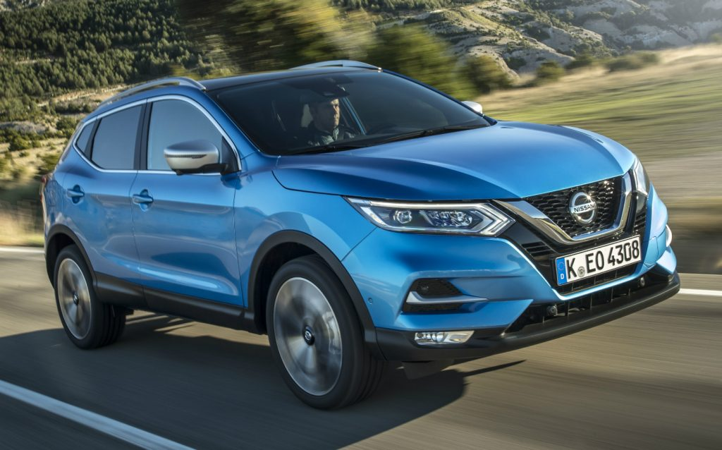 Sunday Times Motor Awards 2019 Best British-Built Car of the Year. Nissan Qashqai
