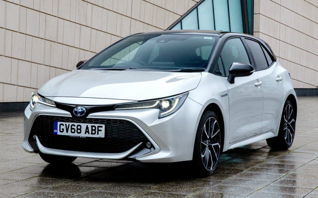 Sunday Times Motor Awards 2019 Best British-Built Car of the Year. Toyota Corolla