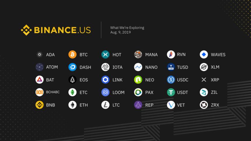 binance crypto bitcoin etheruem