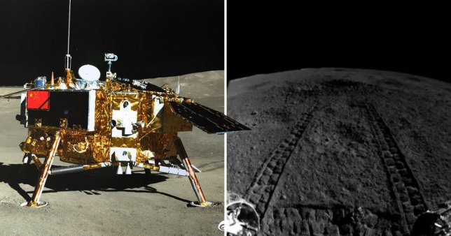 China's lunar rover found something strange on the dark side of the moon