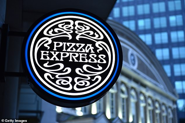 Struggling: Pizza Express could be sunk by its £1.1billion debts
