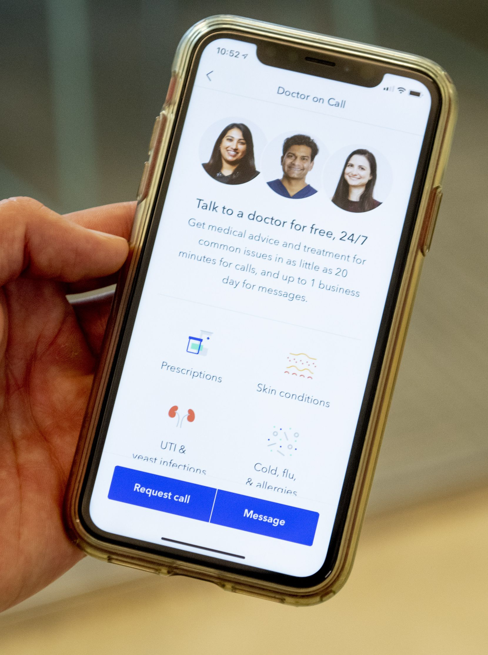 Telemedicine or virtual visits with doctors is one way Oscar Health says it's controlling health care costs.