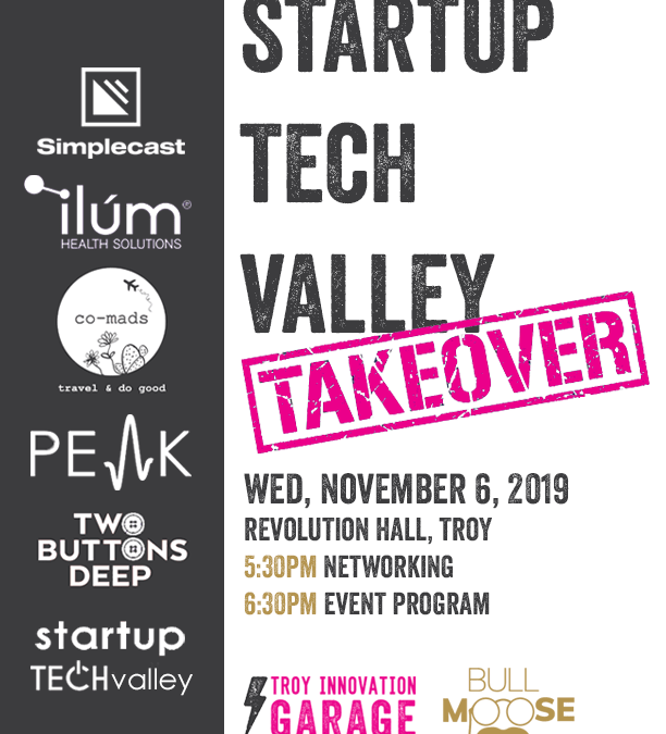 2BD is Sharing Our Startup Journey at Startup Tech Valley on November 6