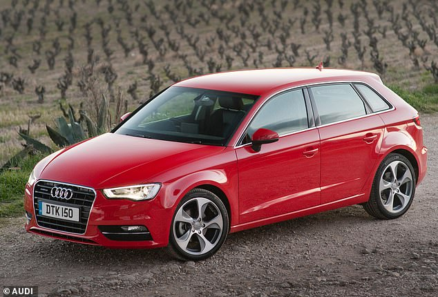 Second-hand diamond: The Audi A3 Sportback has been named by What Car? as the best used car of the moment in its latest awards