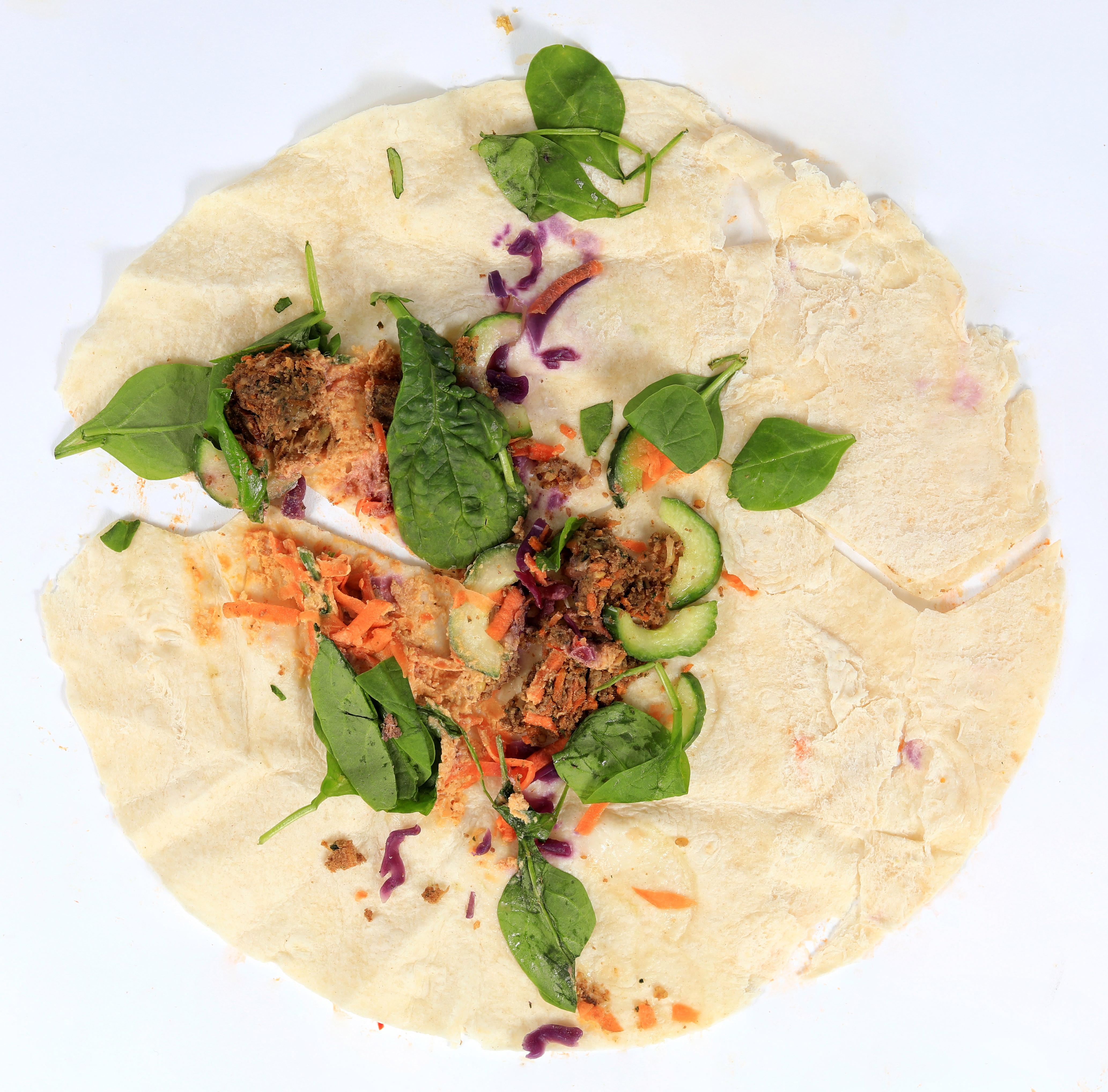Sainsbury's: Festive Falafel & Hummus