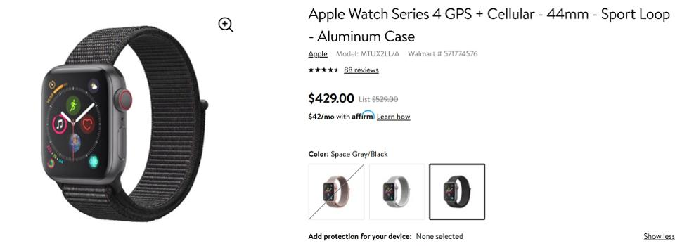 Walmart Black Friday Apple Watch deals, Walmart Black Friday smartwatch sale