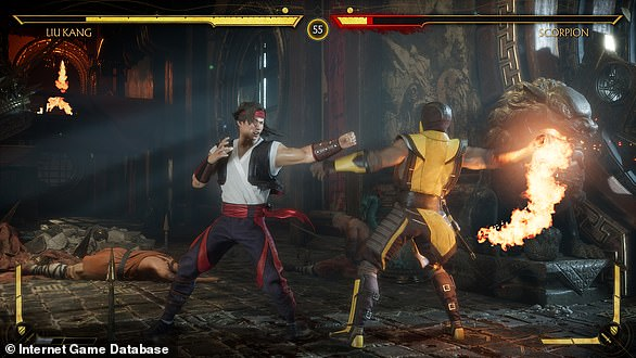 Mortal Kombat 11, one of the 22 games to be available on Google Stadia at launch