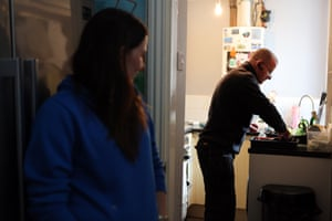 Plumber James Anderson of Disabled and Elderly Plumbing and Heating Emergency Response at a customer's home in Nelson, Lancashire.