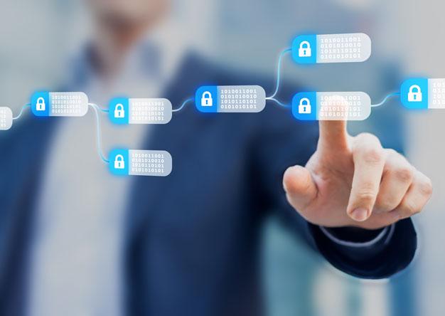 Blockchain Security Graphic