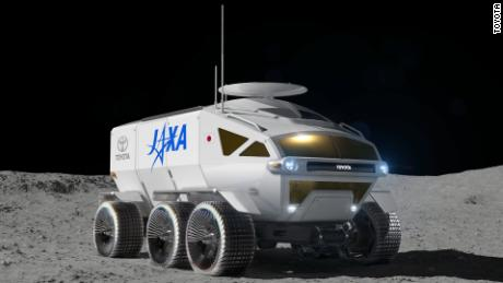 Toyota is working on a moon buggy