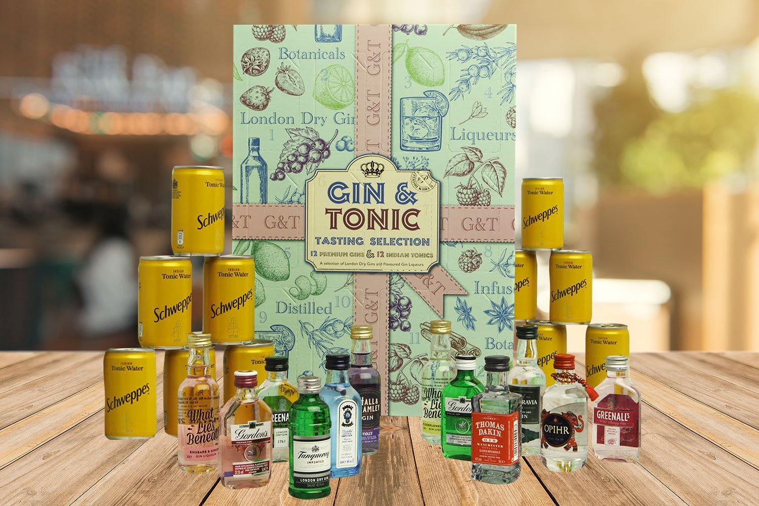 Home Bargains is selling this gin and tonic advent calendar for a bargain price