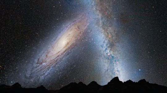 The Milky Way and Andromeda will collide in a massive cosmic crash in about 4.5 billion years