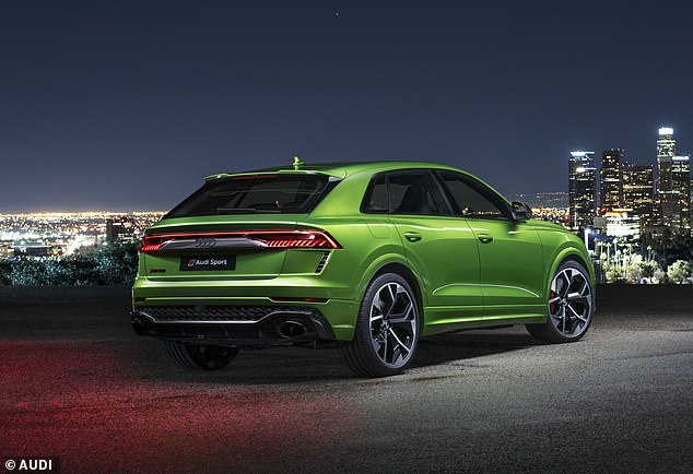 Fastest SUV of them all:Audi RS Q8 is the firm's most powerful and fastest sports utility vehicle, accelerating from rest to 62mph in just 3.8 seconds and to 124.3 mph in 13.7 seconds