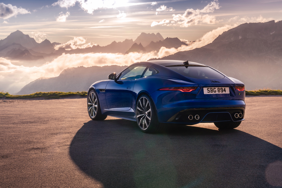 The 300hp rear-drive F-Type starts at £54,000