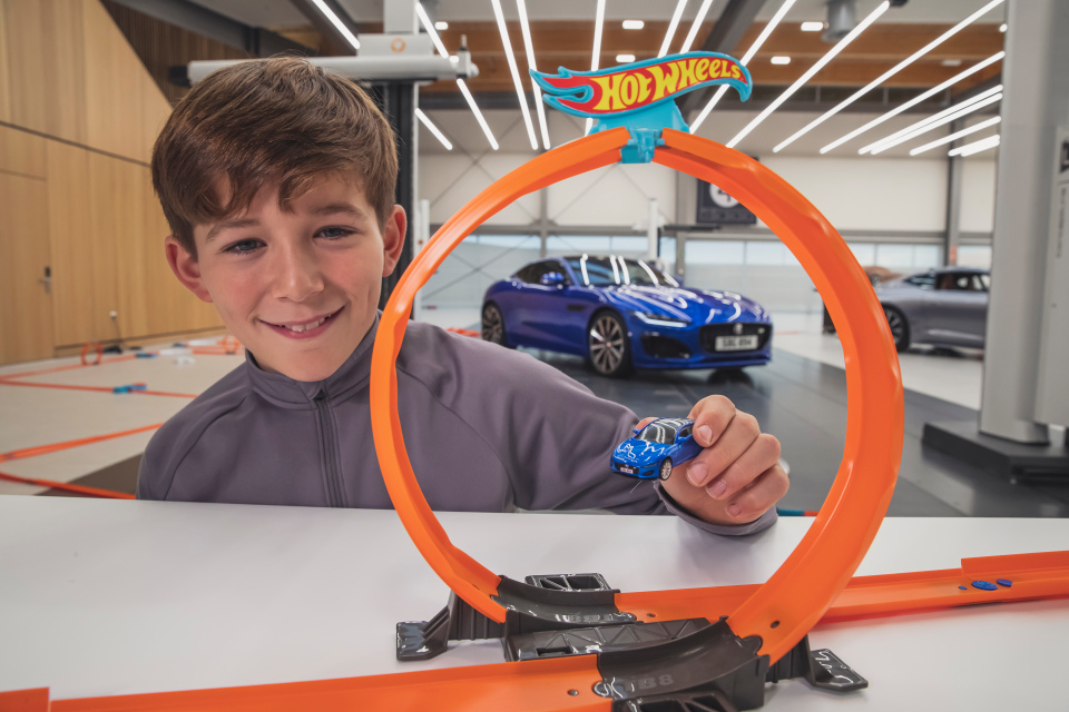 Get your hands on a Hot Wheels Colossal Crash track set worth £90 for smiles per hours like these