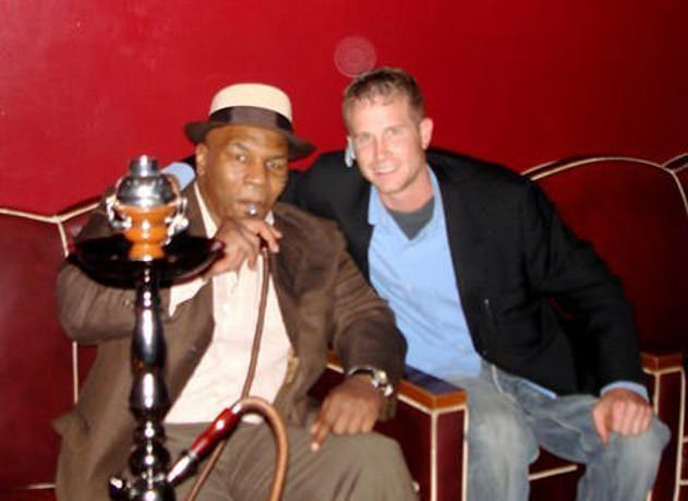 A tradition of Arabic, Persian, Armenian, Indian, Turkish and African cultures, hookah pipes, which contain shisha, are smoked through a large water pipe, usually in groups. Pictured: Mike Tyson