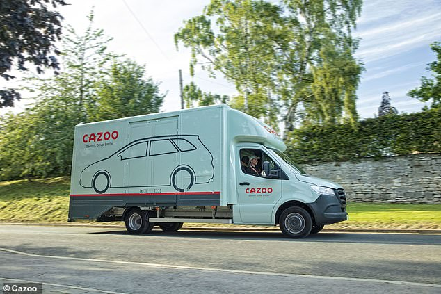The cars are delivered to customers' doors as part of the deal, and they can even collect part-exchange vehicles in the handover