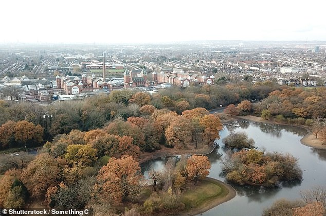 Waltham Forest, a North London district, saw prices increase by 98 in the past decade
