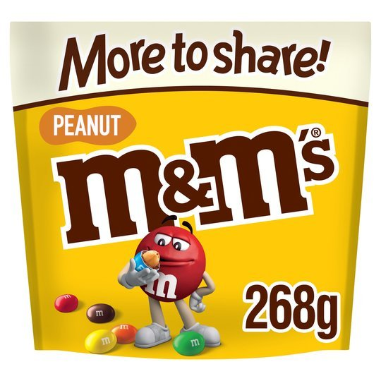 Get M&M's Peanut More To Share pouch from Tesco for just £2
