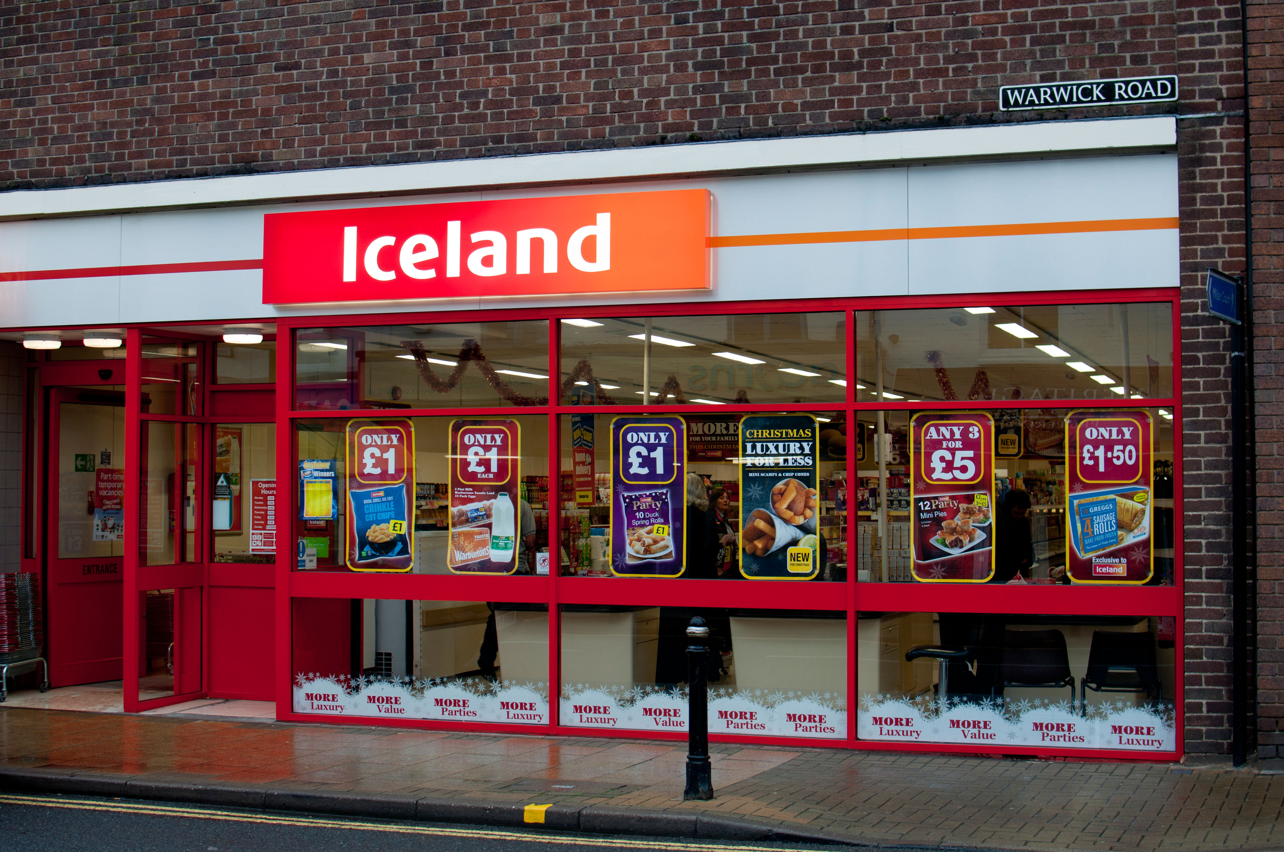 Check with your local Iceland
