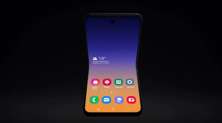 Samsung, Samsung flip style phone, samsung Galaxy Fold 2, Galaxy Fold 2, Galaxy Fold 2 flip phone, Motorola Moto Razr 2019