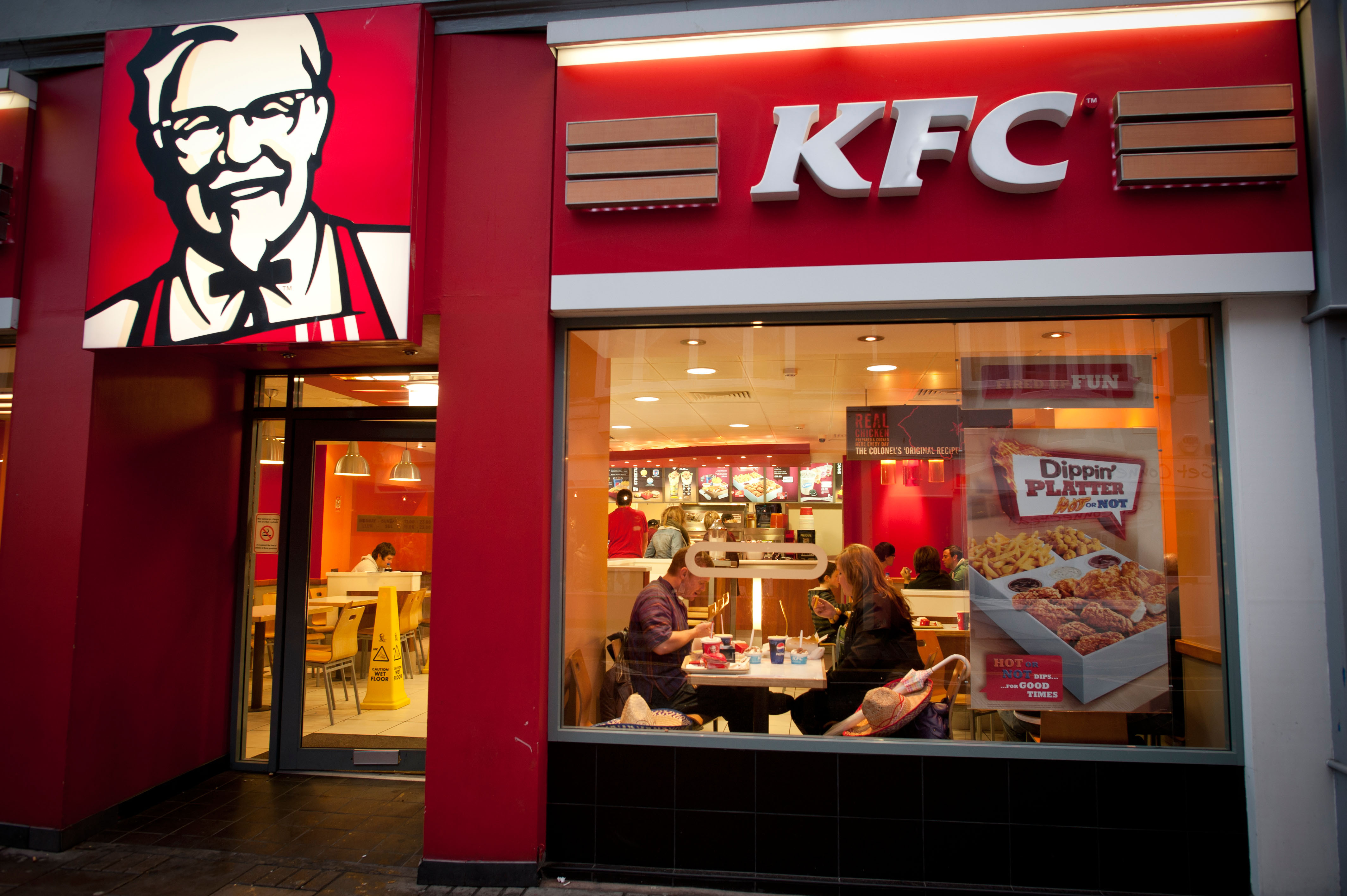Want a quick route to the top? Try a fast-food chain