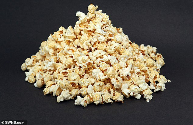 Although the popcorn didn't cause Mr Martin's illness, it may have been triggered by him damaging his gums with dirty items he used to try and get the food out of his teeth