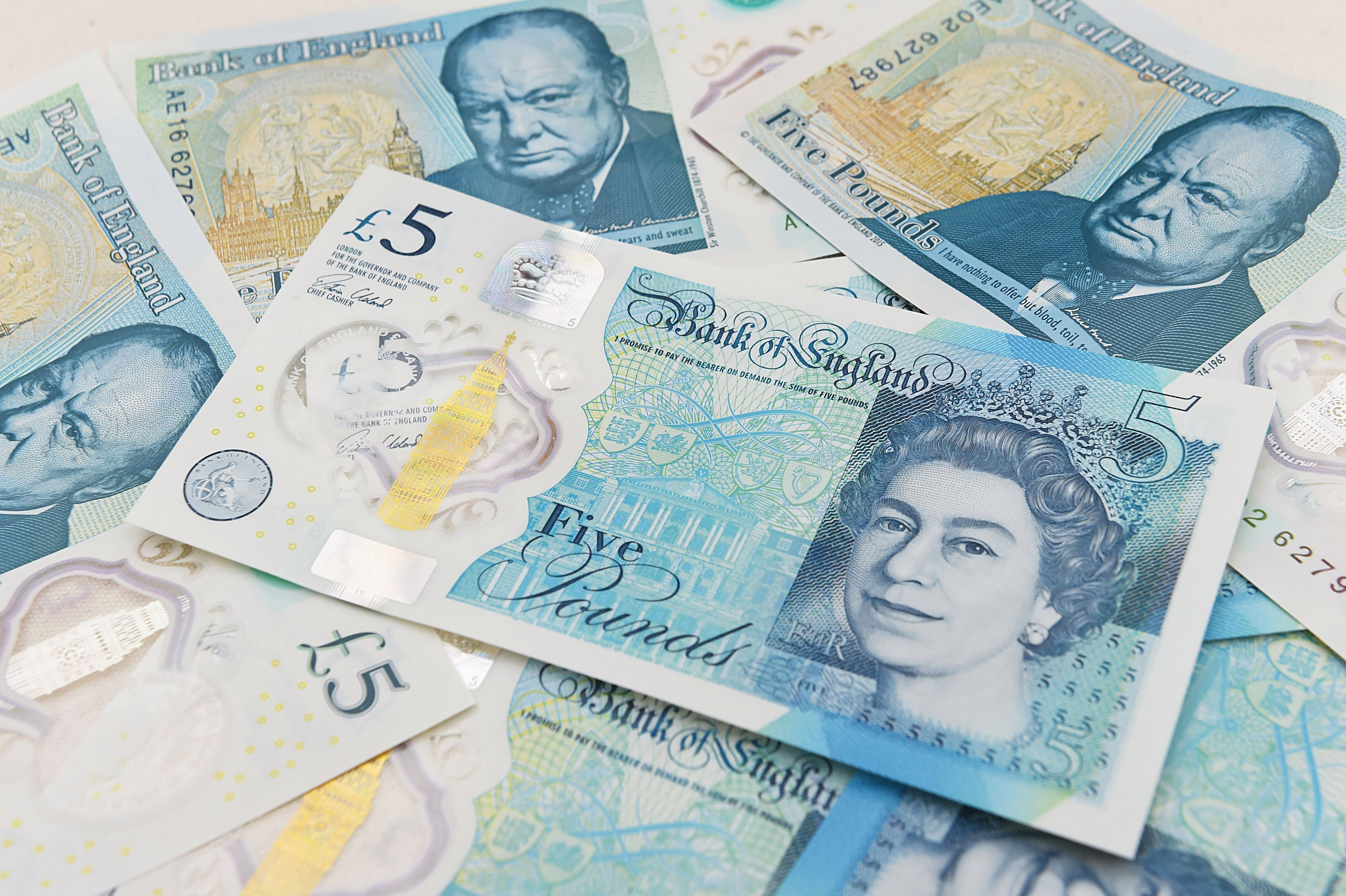 Shops have been concerned about a flood of fake fivers, but the Bank of England has insisted that they are real